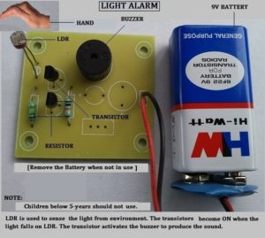 light-alarm