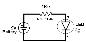 single-led-ckt